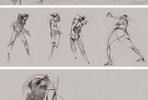 Drawing References: Human Anatomy