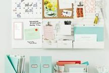 Organization tips & ideas