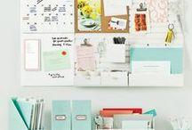 Organization tips & ideas