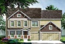 The Windsor / The Windsor is a beautiful 2 story home offered in our Heritage Collection that features 4 large bedrooms, 2 1/2 bathrooms and 3,215 square feet of wonderful living space.
