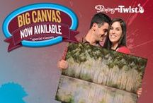 PWAT: Big Canvas / Now available at Painting with a Twist. Schedule your BIG canvas class today!