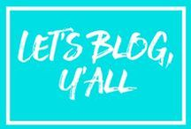Let's Blog, Y'all! / Welcome! Pin & share any and all things - new blog posts, blogging tips, and everything related to blogging. To join the Board, follow this Board AND @bitchybutbubbly. Then send your email address to sarah@bitchybutbubbly.com for an invite. Please make sure that for every pin you post, repin 2 pins.