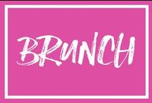 Let's Brunch / brunch, mimosas, bellinis, bloody mary, brunch recipes, bacon, eggs, omelette, frittata, french toast, bacon, waffle, belgian waffle, maple syrup, syrup, powdered sugar, fruit bowl, fruit salad, champagne, prosecco, pastry, pastries, scones, muffins, bagels, croissants, eggs, avocados, flatbread, donuts, cake, eggs benedict, scrambled eggs, all-you-can-drink brunch, bottomless brunch, boozy brunch, liquid lunch, brunch cocktail