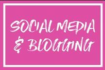 Social Media & Blogging Tips / social media, blogging, business, tips, facebook, instagram, pinterest, twitter, email marketing, aweber, mailchimp, convertkit, leadpages, clickfunnels, opt-in, growth, online business, business plan, engagement, following, followers, email list, hashtags, brand, logo, branding, twitter chats, blog post ideas, grow your blog, strategy, small business, content, content creation, linkedin, client, clients, seo, canva, stock photos, readers, facebook groups, feed