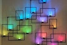 Lamps / The beauty of light, give it as well some special shape