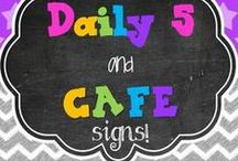 Daily 5 and CAFE / by Sharmon S.