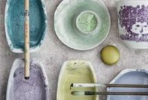 Colour collectors / colors and textures... Inspiration