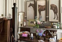 Horse and hounds / Horses, Dogs, Equestrian & Country Style