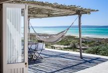 Formentera inspired homes / Houses from Formentera, Balearic islands