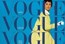 Vogue covers / by B&D design color, contrast & clothing