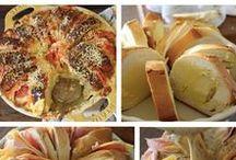 Pão / pão caseiro, pão de liquidificador, pão de colher, pão sem sova, focaccia, pão petrópolis, tortano de linguiça calabresa, pão de calabresa, pão de alecrim, pão com sova no bowl, pão de queijo, pão de salsicha, pão de minuto, pão de coco, pão Chavati