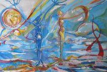 Dipinti - Paintings Body art / Intensely breath and do art design painting sculpture frescoes www.angiolatremonti.com mabilla@angiolatremonti.com