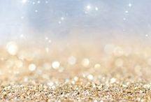 Stardust, glitter...