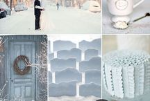 Winter Weddings / Winter themed elements for your Winter Wonderland themed wedding