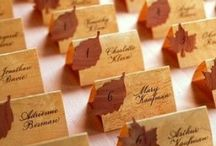 Autumnal Wedding / Fall wedding