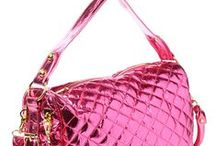 Pink bags and purses