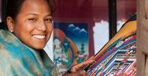Donate / Donate as little as $1 and support our thangka school. Thank you!