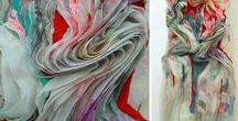 MODE // Nähen, Stricken :: FASHION // sewing, knitting / Lieblingsschnitte, Formen, Falten, Farben und (Blumen-)Mustern :: Favorite cuts, shapes, folds, colours and (flower-)patterns