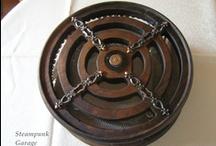 Circle prison / Steampunk mini computer casecon modding