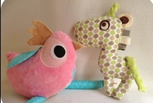 my fabric makes / Here you will find cuties that I sew especially for friends and my etsy shop!
