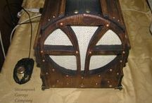 Radioform the echo centenaris / steampunk mini-pccomputer modding