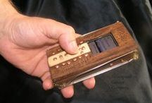 Ancient voice 0909 / my steampunk wood cellphone