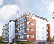 Wielorodzinne i szeregówki / Projekty budynków wielorodzinnych znajdujące się w ofercie MTM STYL cechuje estetyka, nowoczesność i funkcjonalność. Projekty posiadają duże przeszklenia, lekkie osłony balkonowe i pastelowe kolory. Użyte materiały budowlane wyróżnia najwyższa jakość, a wykończenie klatek schodowych, holi i korytarzy styl i elegancja.