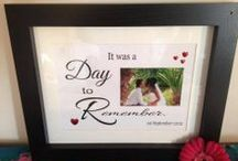 Wedding designs / Our personalised designs are a perfect way to remember that special day  perfect as a gift or why not treat yourself