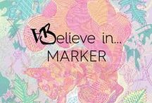 M A R K E R / #Marker #Posca
