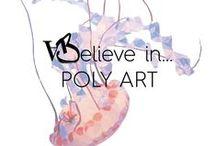P O L Y A R T / L'art de la facette #polygon