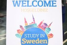 "Study in Sweden Event / On the 16th of October 2015 IAU`s Erasmus+ Team was the host for the participants attending the ""Study in Sweden"" Event. Set under the main series of events ""5 countries 5 seminars"", our Event had Swedish guests, representing prestigious universities taking place in top 100 worldwide universities: Stockholm University, Linköping University and Chalmers University of Technology."