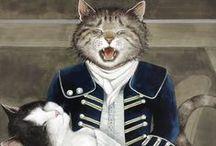 Cats by Susan Herbert