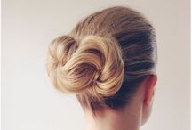 buns / all styles of buns