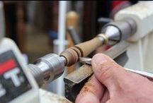 Ebanisteria, Falegnameria e Tornitore/ Cabinet making, Woodworking and Lathe turning