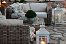 Stone Outdoor Rooms