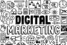 Online Marketing / A board full of interesting topics relating Online Marketing.