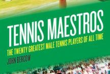 Tennis Maestros: The Twenty Greatest Male Tennis Players Of All Time / Tennis Maestros: The Twenty Greatest Male Tennis Players Of All Time by John Bercow is out 2nd June 2014. Wonder who made the cut? You'll have to read it to find out:  https://www.bitebackpublishing.com/books/tennis-maestros-hardback / by Biteback Publishing