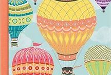 Hot Air Balloon Art and Craft / Creative inspiration based on hot air balloons