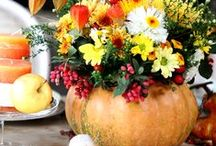 Feasting On Thanksgiving / Fabulous and unforgettable Thanksgiving recipes, decor and entertaining tips