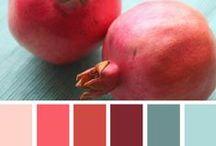 Geïnspireerd door rood / Verliefd op rood. Roze, Rood, Roder en alles wat er tussen zit.