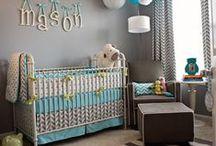 Habitaciones de bebés // Rooms for babies / Pines de habitaciones de bebés e ideas y técnicas para decorarlas.