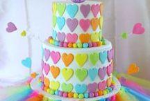 Tartas de cumpleaños infantiles // Children's birthday cakes / Pines de tartas de cumpleaños para sorprender a los más pequeños el día de su cumpleaños. / by KANGURINES