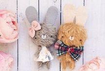 Muñecos y peluches adorables // Adorable dolls and stuffed animals / Pines de tiernos peluches y muñecos. DIY.
