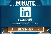 Social Media: Linkedin / Topic & infographics on how to use Linkedin.