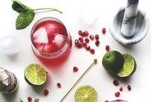 Spirited Pomegranates / Boozy recipes using our favorite fruit.