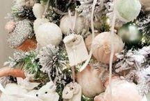 Maneras de vivir la #Navidad 2014: colección romántica / En tonos pastel, con el rosa y el verde menta como protagonistas y las sutiles lentejuelas como acompañantes. Una decoración diferente para hacer todavía más personal tu hogar en #Navidad