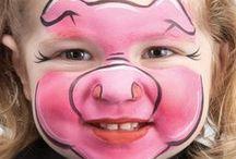 Maquillajes para disfraces / Ideas de maquillaje para disfraces de Carnaval o Halloween