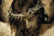 Historical Figures – Low Poly / Historical Figures – Low Polygons