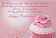 Birthday sayings card <3