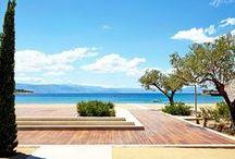 Architecture Amanzoe Hotel Aegean Sea